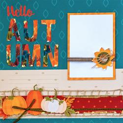 Autumn Layouts + Card $10